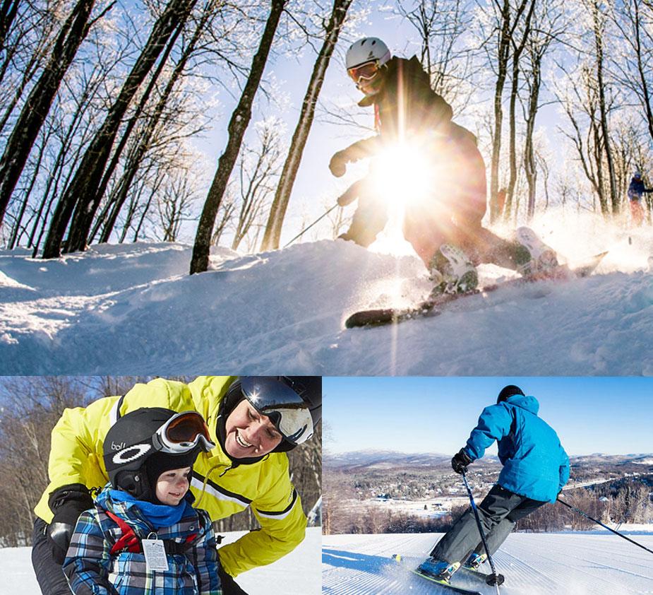 Ski - Mont Blanc Ski Resort Quebec Ski Resorts Map on