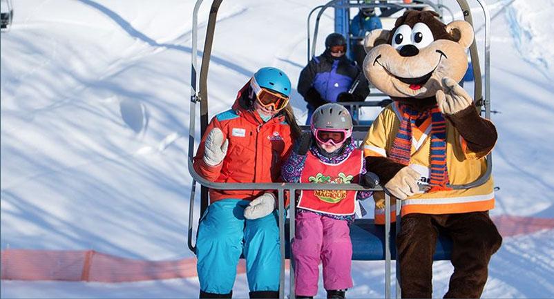 Vacances hivernales et expéditions dans la région de Mont-Tremblant - Station Ski Mont Blanc