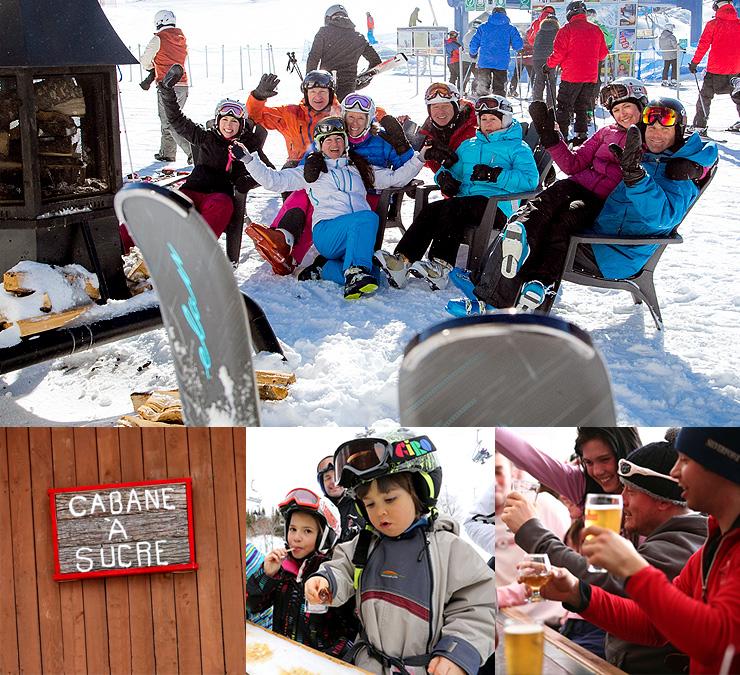 activites et installations - Station Ski Mont Blanc - région de Mont-Tremblant et des Laurentides